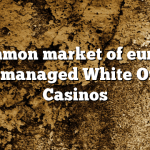 Common market of europe Well managed White Online Casinos