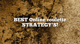 BEST Online roulette STRATEGY'S!