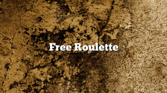 Free Roulette