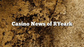 Casino News of [Year]